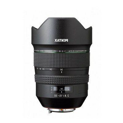 Pentax HD PENTAX-D 15-30mm f/2.8 ED WR Lens Zoom NEW