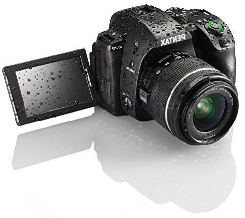 Pentax K-70 Weather-Sealed Camera, Only