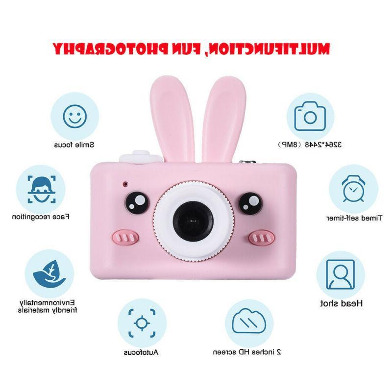 Kids Digital Cameras With Cover USB