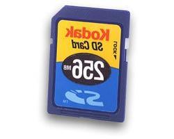 Kodak 256mb Premium Secure Digital SD Memord Card
