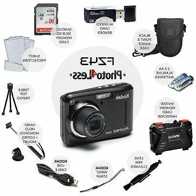 Kodak PIXPRO Digital Camera with Optical Zoom 16GB ...