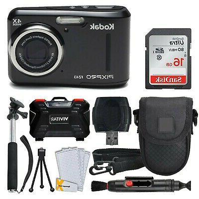 kodak pixpro fz43 16 15mp digital camera