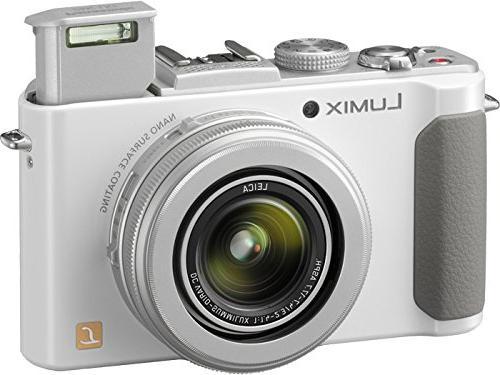 Panasonic LUMIX DMC-LX7W MP 7.5x Intelligent zoom and 3.0-inch