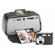 HP M447 Photosmart Compact Photo Studio Digital Camera with