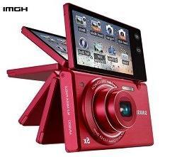 Samsung Multiview MV800 16.1MP Digital Camera with 5x Optica