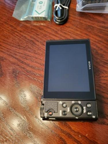 NEW Cyber-shot DSC-HX80 BLACK