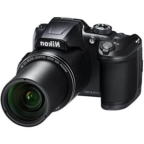 Nikon COOLPIX B500 16MP 40x Camera w/Wi-Fi SDHC -