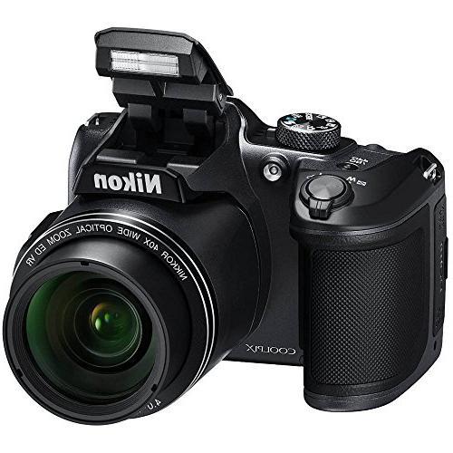 Nikon 40x Optical Camera w/Wi-Fi SDHC -