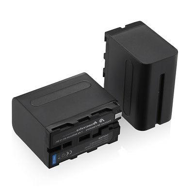 8800mAh NP-F970 For NP-F950 NP-F770 Digital Camera