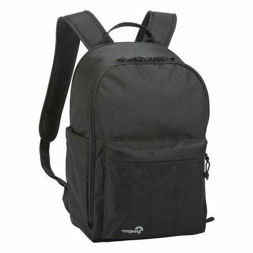 passport backpack for digital slr cameras black