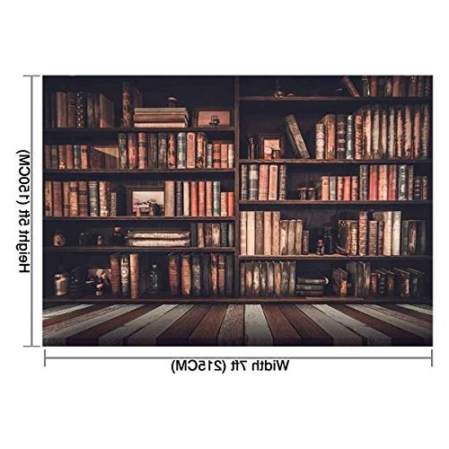 Allenjoy 7x5ft Book in graduation background photo studio