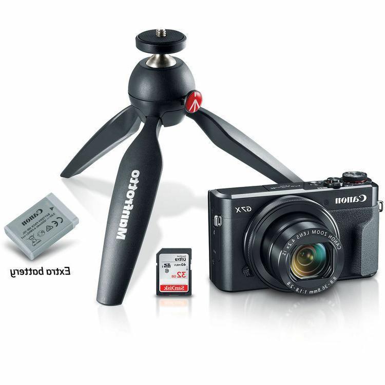 Canon G7 Mark Digital Video Creator Bundle