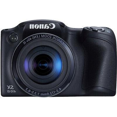 Canon Powershot IS Black Battery 32GB Bundle