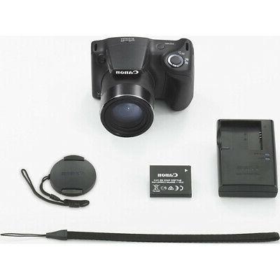 Canon Powershot Black Battery 9pc Bundle