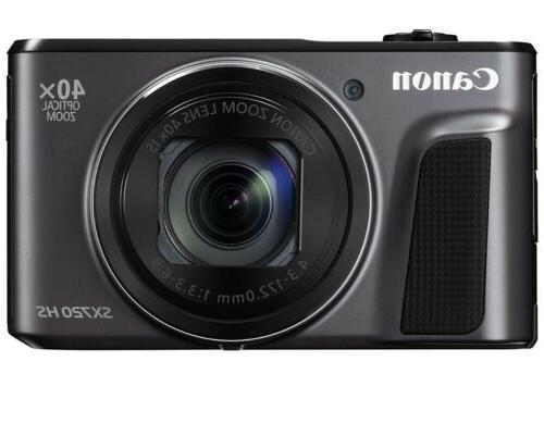 powershot sx720 hs digital camera black in