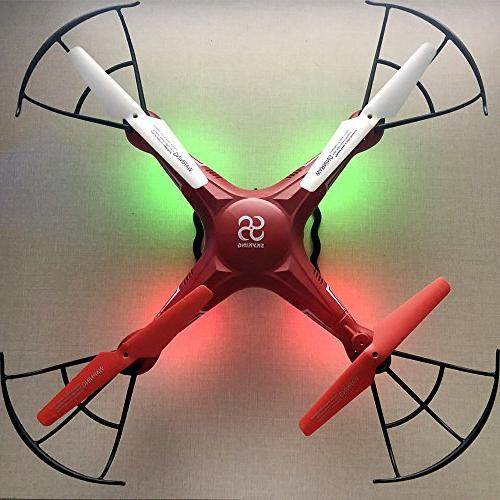 SKYKING Control Drone with S-08C RC Quadcopter Photo and Recording Headless Mode,with 6 Axis Kids Adults