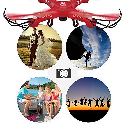 SKYKING Quadcopter Control S-08C Photo Headless 6 Kids Adults
