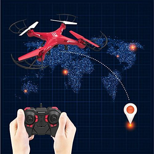 SKYKING Quadcopter Remote Control with S-08C RC Photo Taking and Recording and 3D Headless Mode,with Card 6 Axis Kids