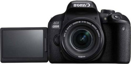 Canon T7i DSLR IS +1yr Warranty -Ultimate