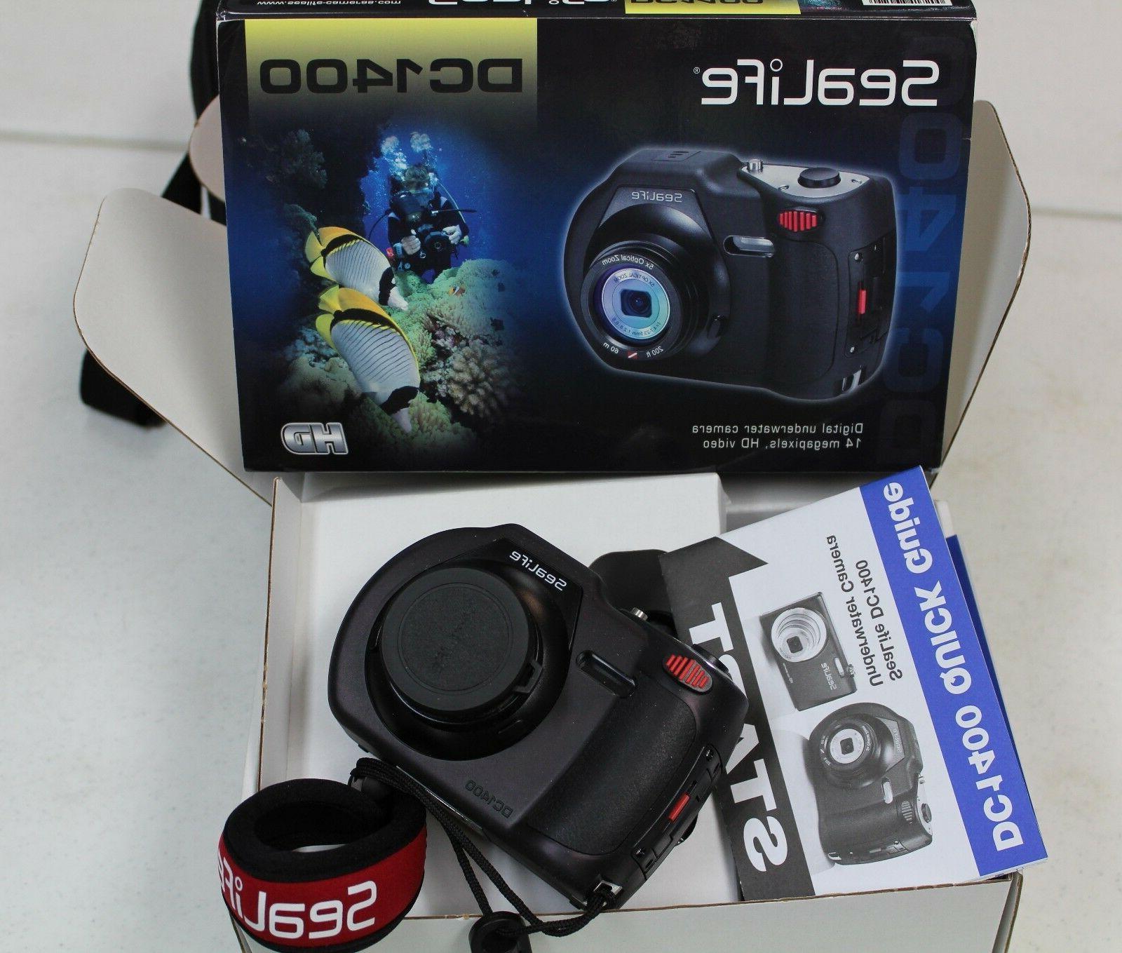 sealife dc1400 underwater digital camera with strobe