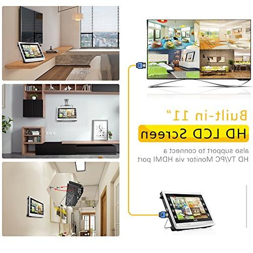 BNT System HD Monitor Hard & Waterproof Indoor Outdoor Home CCTV Surveillance Cameras Vision Access Motion