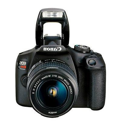 Canon DSLR EF-S f/3.5-5.6 II Lens 16GB Bundle