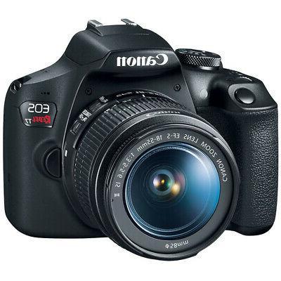 Canon T7 DSLR Camera f/3.5-5.6 16GB x2