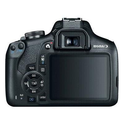 Canon T7 Rebel DSLR Camera f/3.5-5.6 II 16GB x2