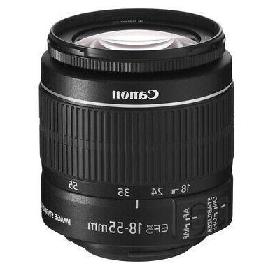 Canon EOS Rebel DSLR Camera 18-55mm 16GB