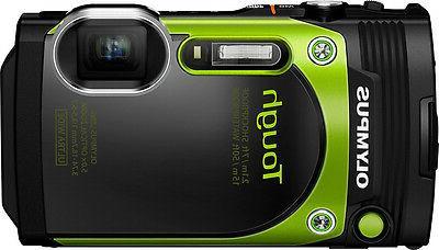 Olympus Tough TG-870 16 Megapixel Compact Camera - Green - 3