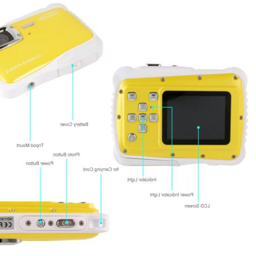 Waterproof CMOS 720P LCD Gift for BB219