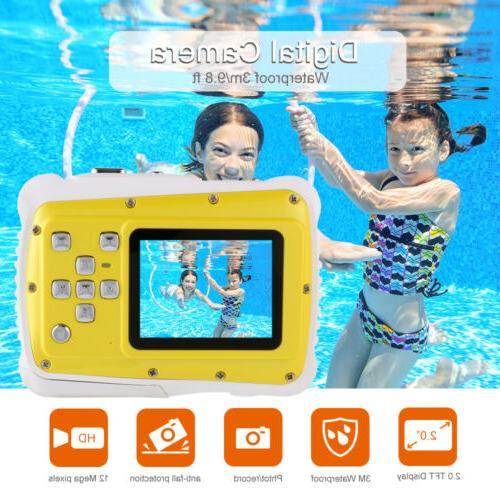 Waterproof CMOS HD 720P LCD Digital Camera Gift BB219