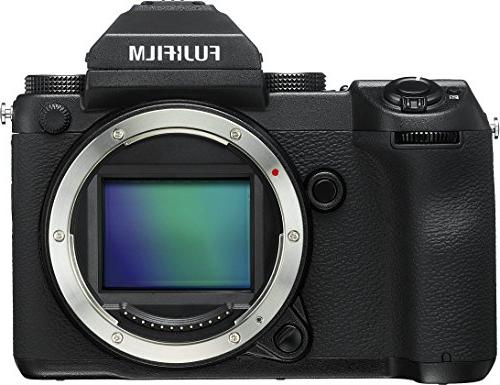 Fujifilm HD Wi-Fi GFX 50S Medium Format Digital Camera Body