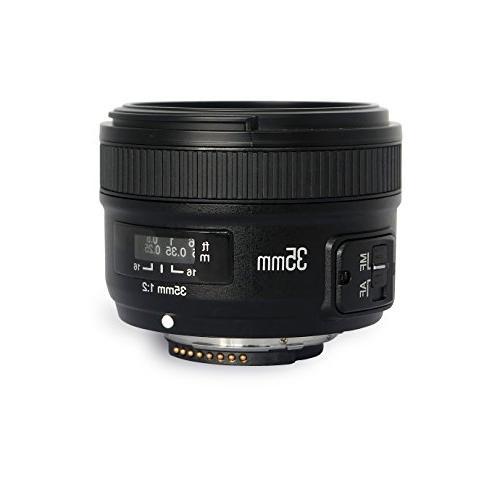 yn35 f2n lens aperture auto