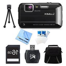 Panasonic LUMIX DMC-TS30 Active Tough Black Digital Camera 1