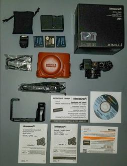 Panasonic LUMIX DMC-LX100 12.8MP Digital Camera - Black MINT