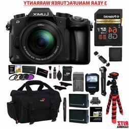 Panasonic LUMIX G85MK Mirrorless Camera + 12-60mm Lens + MAN