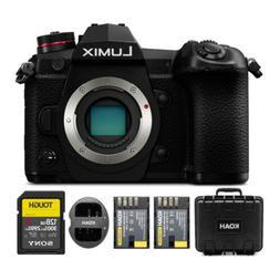 PANASONIC LUMIX G9 Mirrorless Camera Body, 20.3 Megapixels P