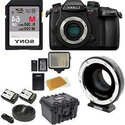 PANASONIC LUMIX GH5s Body C4K Mirrorless Camera w/Metabones