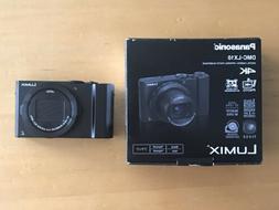 Panasonic LUMIX LX10 20.1MP Digital Camera Black F1.4-2.8 Ge