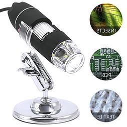 YOMYM 1000x Magnification Endoscope, Mini USB Microscopes wi
