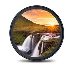 waka 58mm MC UV Filter, Ultra Slim HD Digital 16 Layers Mult