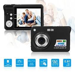 HD Mini Digital Camera with 2.7 inch TFT LCD Display,Digital