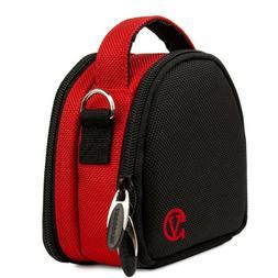 VanGoddy Mini Laurel Red Camera Carrying Case for HD Mini Di