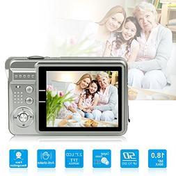 HD Mini Digital Camera with 2.7 Inch TFT LCD Display,Kids Ch