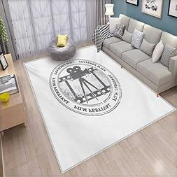 Movie Theater Bath Mat 3D Digital Printing Mat Film Festival