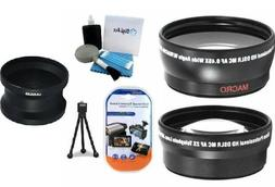 Must Have Accessory Lens Kit includes Adapter Tube + 2.2X Te