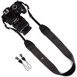 Wolven DSLR/SLR Camera Neck Shoulder Belt Strap Compatible f