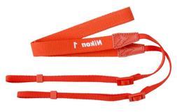 Nikon AN-N1000 Orange Neck Strap