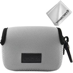 First2savvv Neoprene Camera Case Bag for Sony Cyber shot DSC